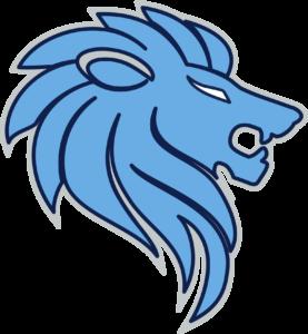 LAKELAND PREP LION HEAD LOGO